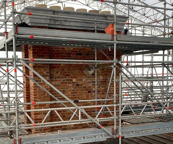 Cashel Palace Chimney Restoration
