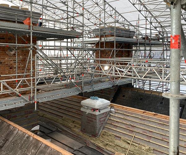 Cashel Palace Roof